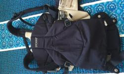 Stokke MyCarrier - dark blue. This model is good for a