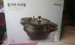 Korean brand new 3 liters stone pressure cooker with