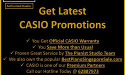 Official CASIO Roadshow @ NEX Serangoon from 11 to 17