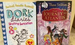 bramd new dork dairies and Thea Sillton books for sale
