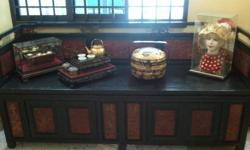 Straits Chinese Peranakan DayBed from an Estate for