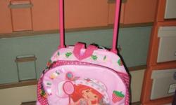 Strawberry shortcake pully bag for Kids Bought at