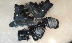 street fighter inline skates - 30 SGD includes