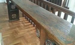 One of a kind antique altar table in excellent