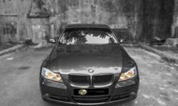 ALPHA DRIVE LUXURY PRESENTS... Grey BMW 3 Series for