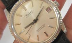 Rare Vintage  CITIZEN Wrist Watch CITIZEN Watch