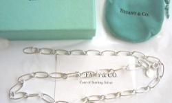 Stunning Tiffany & Company 925 Silver Necklaces + Heart