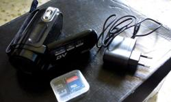 Stylish Flash Memory Camcorder - Brand new with box -