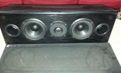 Im selling Polkaudio PSW100 active sub-woofer and