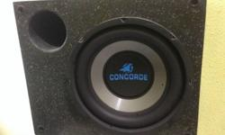 "Selling 8"" passive ported subwoofer. Self collection."