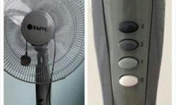 "Hi All, I am selling Taiyo 16"" Standing Fan FS2R-Bwith"