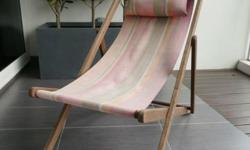 Deck Chair for sale in good condition with neck