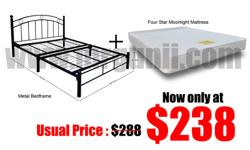 Bedroomset $238 Nett No G.S.T Free Delivery Free