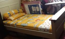 Rarely used super single bed for sale. Price