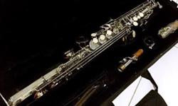 Selling my used soprano saxophone due to its low usage,