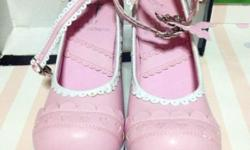 Sweet Lolita rocking shoes; if sweet its your thing,