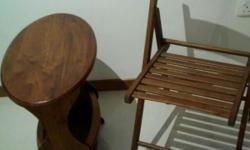 Table bought at antique store@$85 and chair @$29.90 at