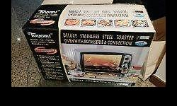 Toyomi Deluxe Stainless Steel Toaster oven with