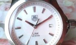 Tag Heuer Lady Link Watch in excellent condition as