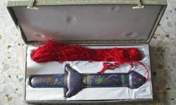 Blue Sword / White Sword with Red Tassels More picture