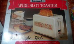 Takada takada bread toaster 2 slice OLD stock but new