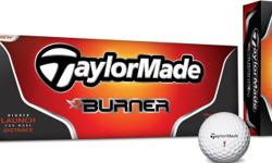 TAYLOR MADE BURNER Finely Tuned GOLF BALLS