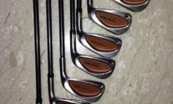Taylormade Bubble shaft Iron set (Men) in good