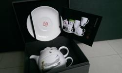 Chinese tea set as collectable item and can be use to