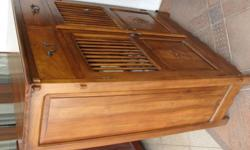 Letting go an elegant teak shoe cabinet. It comes with