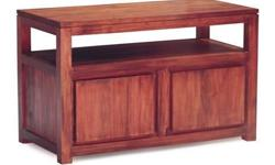 Features: 2 Door TV Console Contemporary design