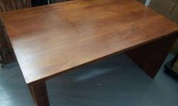 Solid teak wood - $150 Dinning Table without chairs