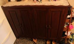 Teakwood Shoe Cabinet in good condition for sale