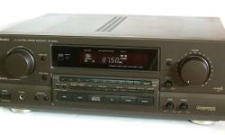 TechNics AV 7 Channels Reciver/AmPliFier SA-GX550