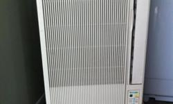 Tecnogas casement aircon,good working condition,$300