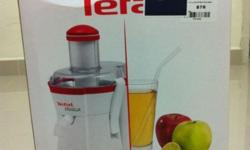Brand new Tefal Juice Extractor , selling at $50.00