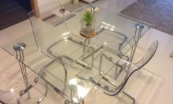 Temper glass table only $50 L120x W80x H73.Glass