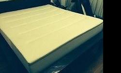 Used 2 Year Old Tempur Celebrity 31cm Mattress - a few