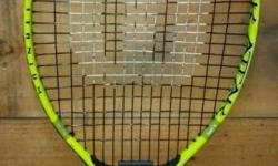 Wilson tennis racket. Titanium. Size 23. Made in Japan.