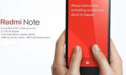 Brand New Redmi Note with Singapore warranty @ $245