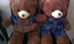 Brand new .2 terry bear one girl one boy . Gift from a