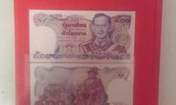 -denomination of 500 baht -year 1987 -picture to show