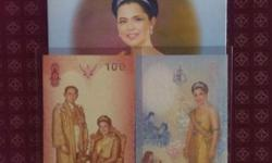 -To commemorate the occasion of queen sirikit 6th cycle