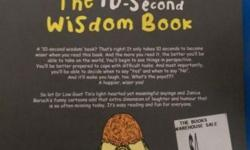 A 10-second wisdom book? That�s right! It only takes 10