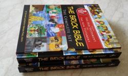 Brand new Brick Bible! - Consists of two books ie The