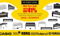 The Pianist Studio Mid Year Sale 2015 Team put together