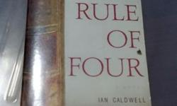 2 books at $5. The Rule of Four. Thr Further Adventures