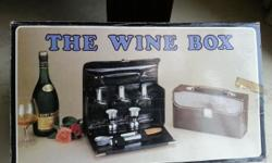 The Wine Box $30 only. Only black colour available.