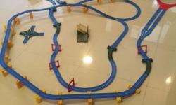Thomas tank engine track conneted with sodor track and