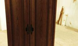 Beautiful Three Door Wardrobe..Solid wood. Used only