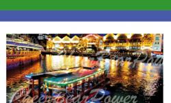 Selling Singapore River Cruise Ticket at a discount!